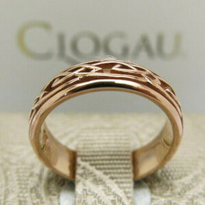 Clogau Gold Annwyl Rose Gold Wedding Ring