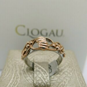 Clogau Silver and Rose Gold Tree of Life Ring